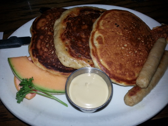 Highlevel Diner - Egg Nog Pancakes